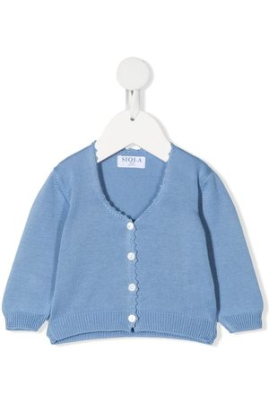 Siola Knitted-cotton cardigan