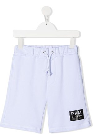 Paolo Pecora Logo-patch track shorts