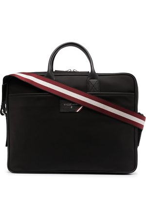 Bally Logo-plaque laptop bag