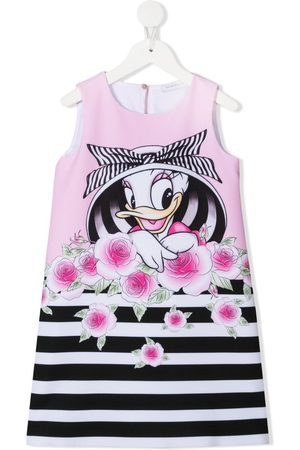 MONNALISA Daisy Duck sleeveless dress