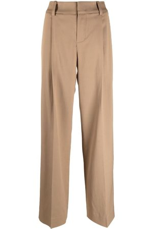 Vince Pressed-crease tailored trousers