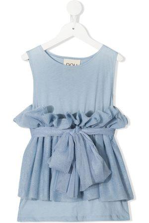DOUUOD KIDS Ruffle-layer dress