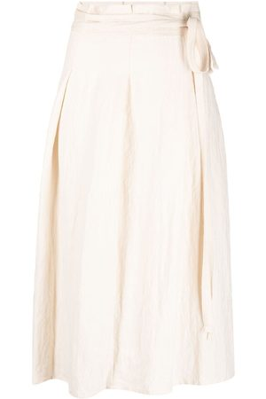 BARENA High-waisted pleated skirt