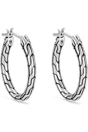 John Hardy Women Earrings - Classic Chain hoop earrings