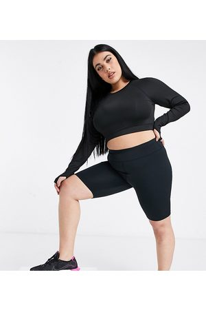 ASOS Curve icon booty legging short with bum sculpt detail