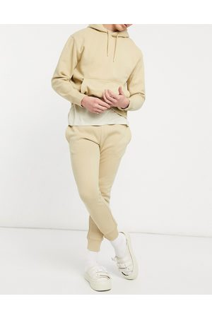 Topman Co-ord joggers in stone-Neutral
