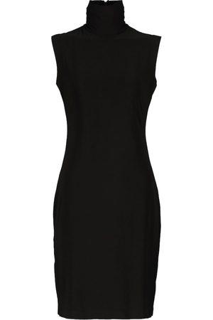 Norma Kamali Women Casual Dresses - Stretch-jersey turtleneck minidress