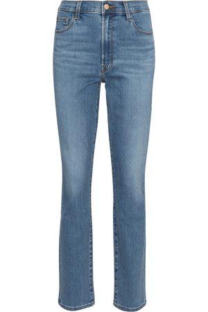 J Brand Teagan high-rise slim jeans