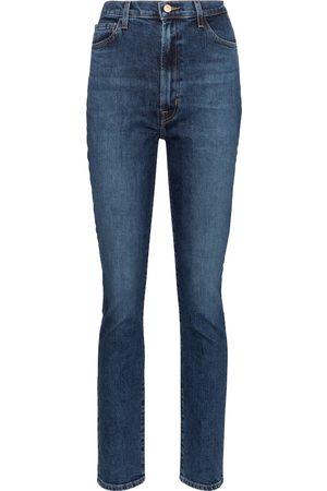 J Brand Women High Waisted - 1212 Runway high-rise straight jeans