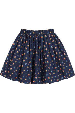 BONPOINT Girls Skirts - Suzon floral cotton skirt