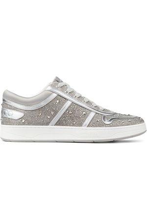 Jimmy Choo Hawaii crystal-embellished sneakers