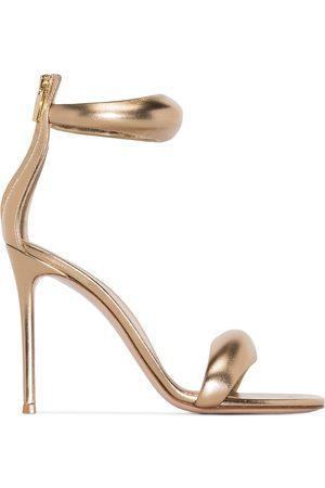 Gianvito Rossi California 105mm leather sandals