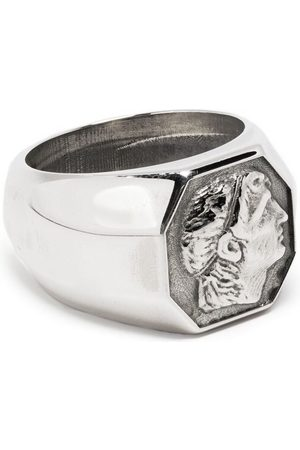 EMANUELE BICOCCHI Rings - Coin signet ring