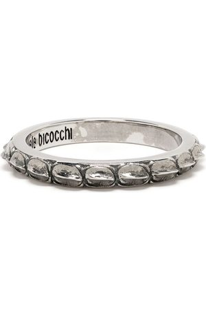 EMANUELE BICOCCHI Croc band ring