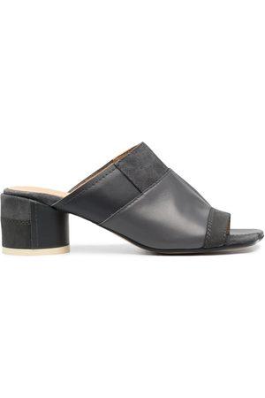 MM6 MAISON MARGIELA Panelled block-heel sandals