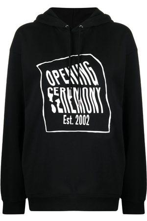 Opening Ceremony Women Hoodies - Logo-print hoodie