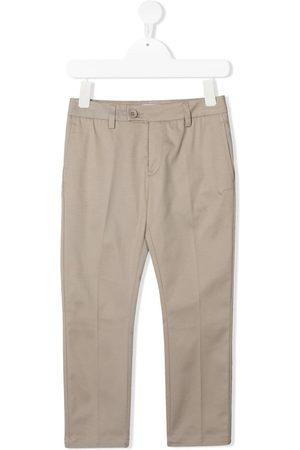 Dondup Straight-leg cotton trousers