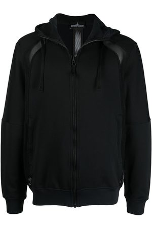 STONE ISLAND SHADOW PROJECT Panelled zip-up hoodie