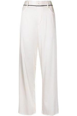 FLEUR DU MAL Women Pyjamas - Satin pajama bottoms