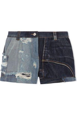 Dolce & Gabbana Patch-detail denim shorts