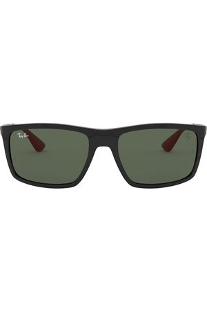 Ray-Ban X Scuderia rectangle-frame sunglasses
