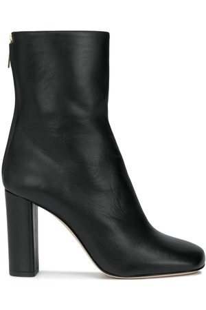 PARIS TEXAS Zip-up calf-length boots