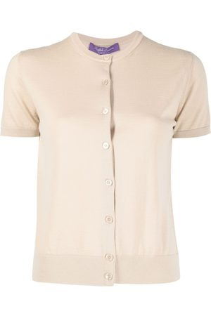 Ralph Lauren Short-sleeve cashmere cardigan