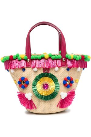 Dolce & Gabbana Embroidered bucket bag