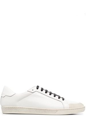 Saint Laurent Logo-stamp low-top sneakers