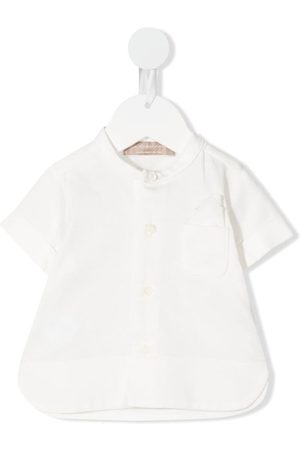 LA STUPENDERIA Chest patch-pocket shirt