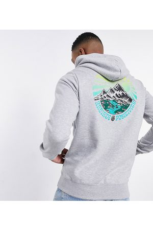Element Balmore back print hoodie in Exclusive at ASOS