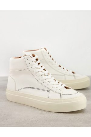 ASOS Lace up plimsolls in off