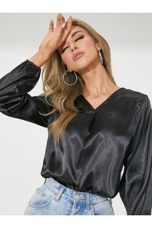 YOINS Celmia Elegant V-Neck Long Sleeves Blouse
