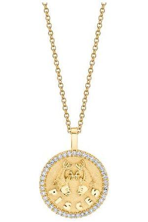 Anita Necklaces - 18K & Diamond Pisces Zodiac Pendant Necklace