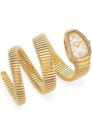 Bvlgari Watches - Serpenti Tubogas 18K & Diamond Double Twist Watch