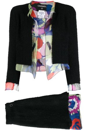 CHANEL Women Suits - 2000 three-piece skirt suit