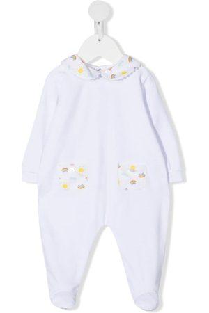 SIOLA Graphic-print cotton babygrow