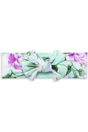 Posh Peanut Baby Headbands - Baby Girl's Erin Floral Headwrap