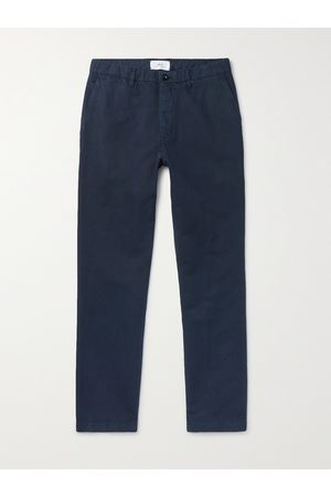 Mr P. Men Chinos - Cotton and Linen-Blend Chinos