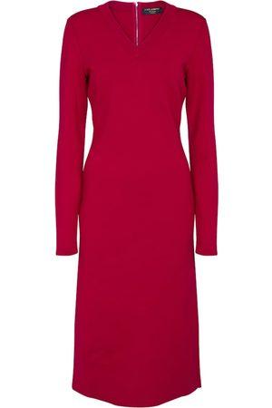 Dolce & Gabbana Women Midi Dresses - Exclusive to Mytheresa – Stretch-wool midi dress