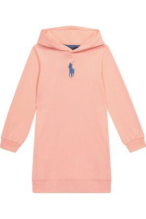 Ralph Lauren Cotton-blend hoodie dress