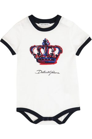 Dolce & Gabbana Rompers - Baby cotton playsuit