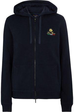 Loro Piana Horsey cotton fleece hoodie