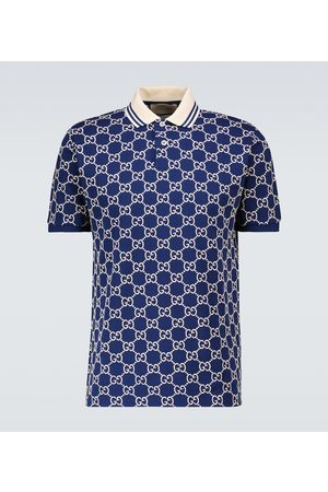 Gucci Short-sleeved monogrammed polo