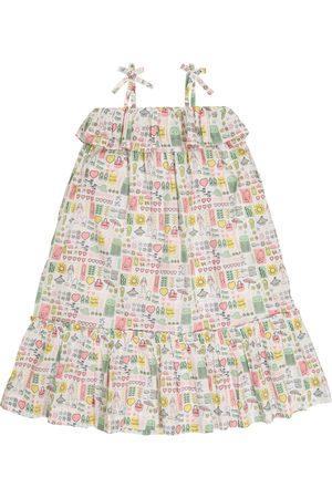 BONPOINT Girls Printed Dresses - Samantha printed cotton dress