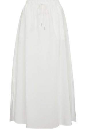 Max Mara Utopico cotton-blend midi skirt