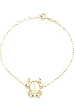Aliita Escarabjo Zafiro 9kt bracelet with sapphires