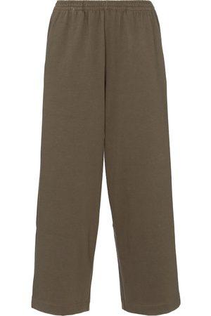 Vince Wide-leg cotton sweatpants