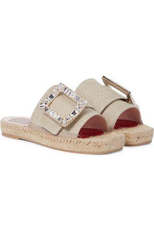 Roger Vivier Embellished espadrille sandals
