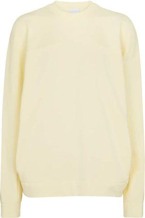 Max Mara Women Sweatshirts - Leisure Frine cotton jersey sweatshirt